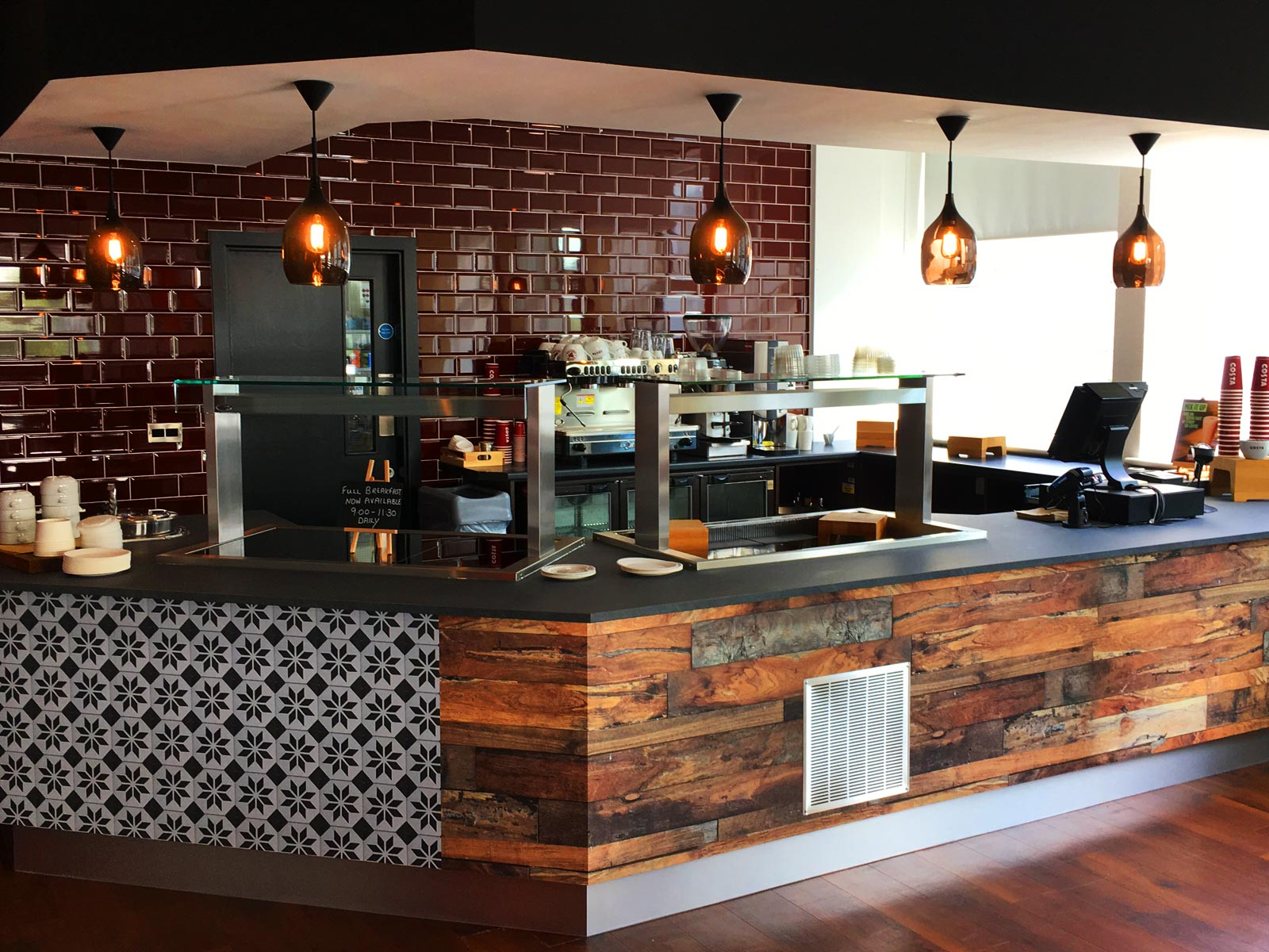 Whats the best surface for my coffee shop?